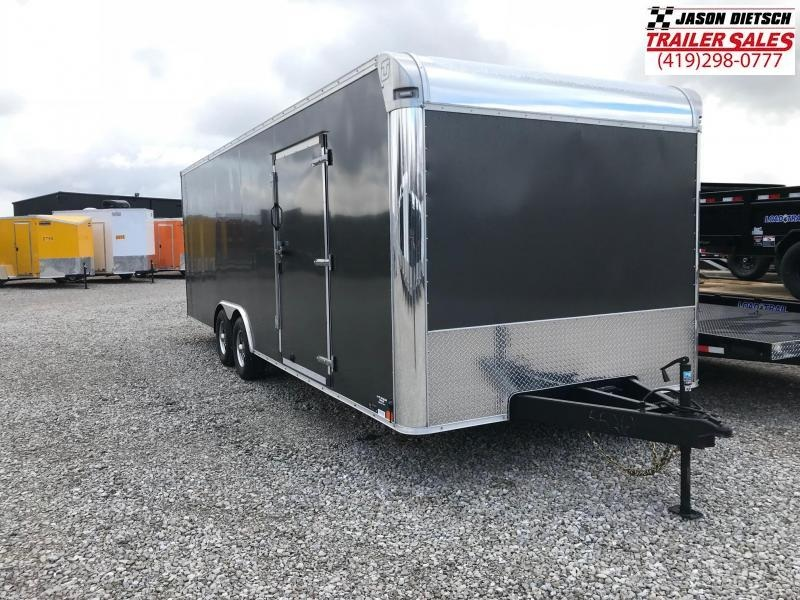 2017 United Trailers 8.5X24 Car / Racing Trailer....STOCK# UN-155261