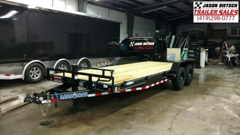 2019 Load Trail 83X20 Tandem Axle Carhauler Car / Racing Trailer...STOCK# LT-182448
