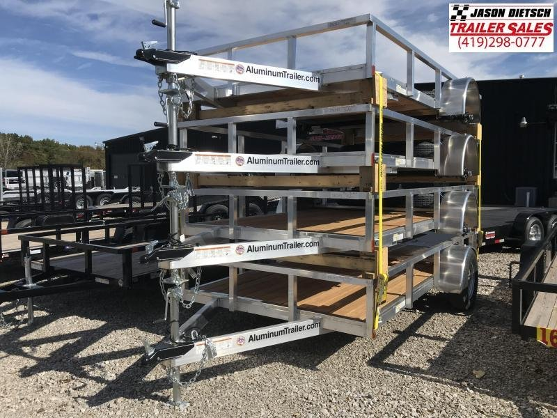 2019 ATC 6x12 All Aluminum Utility Trailer....Stock#AT-216358