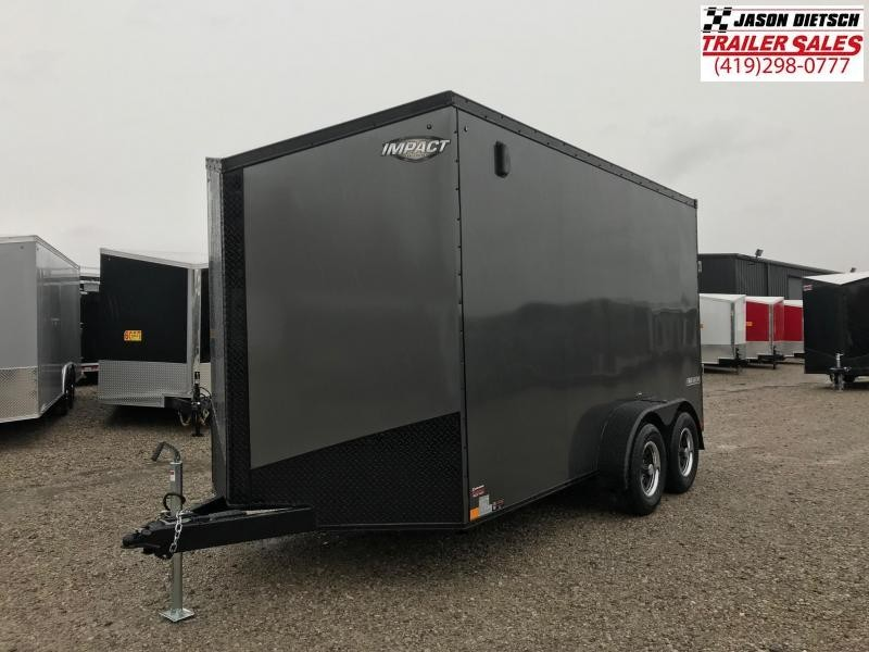 2019 Impact Trailers 7x14 EXTRA HEIGHT Enclosed Cargo Trailer....IMP001371
