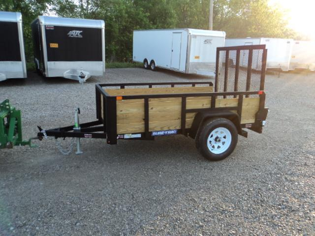 2018 Sure Trac 5x8 Tube Top Three Board Utility Trailer....Stock# ST-240061