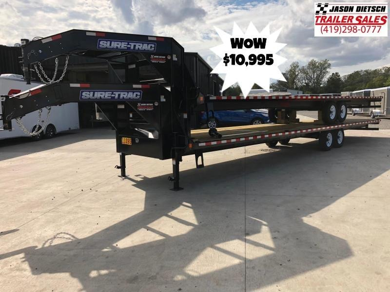 2019 Sure-Trac 8.5x36 LowPro Deckover Gooseneck....STOCK# ST-247054