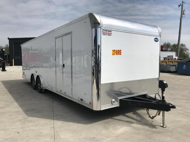 2019 United Trailer GEN 4- 8.5x28 Enclosed Race Trailer....Stock#UN-166234