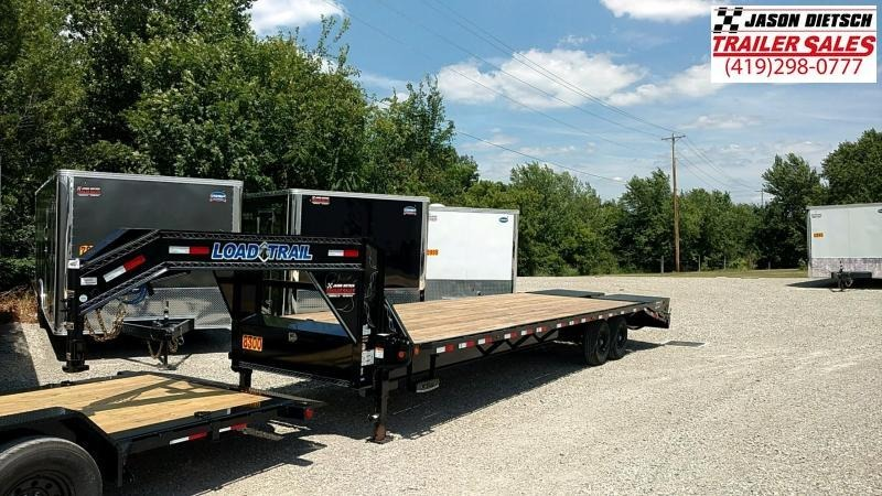 2018 Load Trail 102X30 Tandem Heavy Duty Gooseneck Equipment Trailer....LT-168869