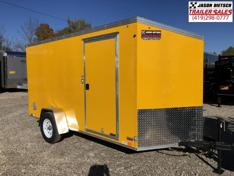 2019 United XLV 6X12 V-Nose Slant Enclosed Cargo Tr....Stock# UN-165066