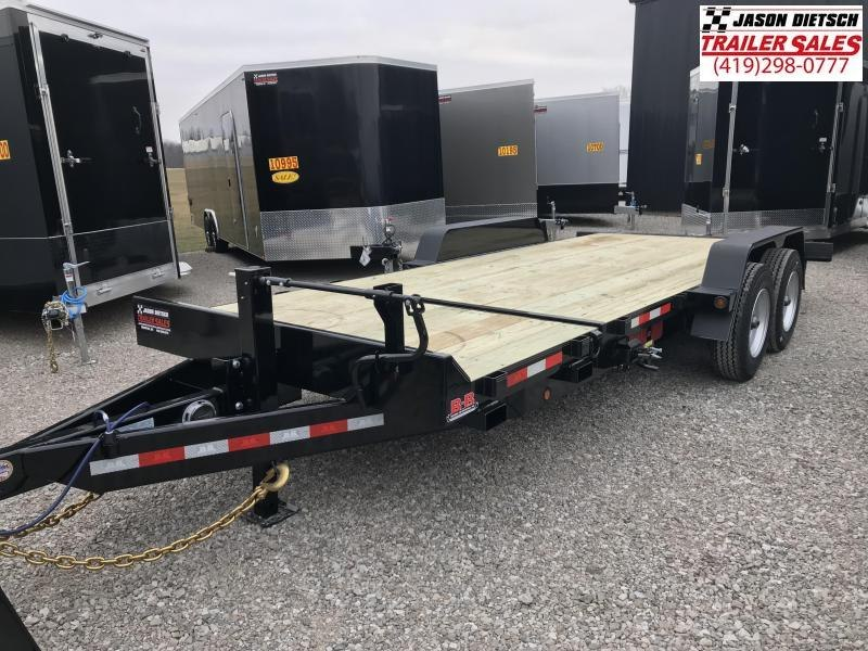 2019 Behnke 83X20 20K TILT Equipment Trailer....STOCK# BB-047897