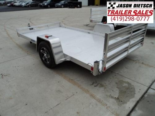 2017 RC Trailers 6.5X12 ALUMINUM LITE OPEN RAMP TRAILER...Stock# RC-5337