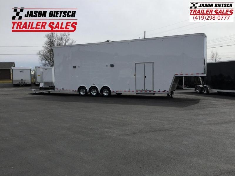 2018 United Trailers USHGN 8.5X38 GOOSENECK Stacker....STOCK# UN-161629