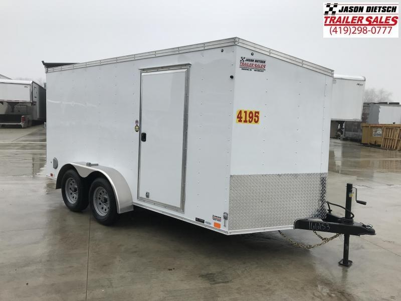 2019 United Trailers XLV 7x14 V-Nose Enclosed Cargo Trailer....Stock# UN-166153