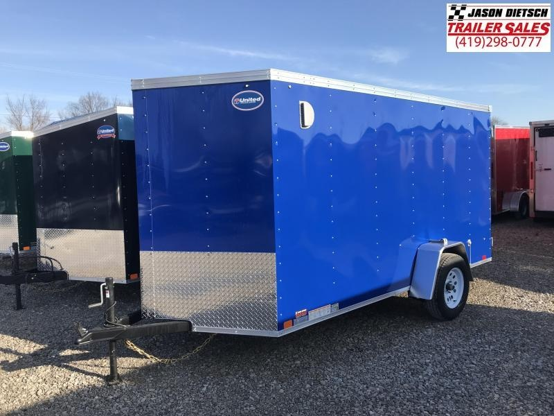 2019 United XLV 6X12 V-Nose Enclosed Cargo Tr....Stock# UN-166836