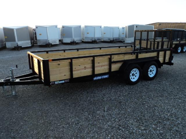 2018 Sure Trac 7x16 Tube Top Three Board Utility Trailer....Stock# ST-237871