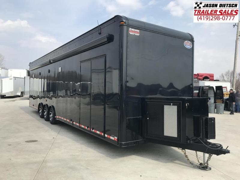 2017 United Trailers USH-8.536TR70 Car / Racing Trailer