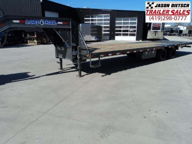 2018 Load Trail GL 102x32 TANDEM LOW-PRO GOOSENECK W/HYD. DOVE Trailer....Stock#LT-162857
