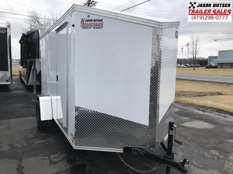 2019 United XLV 6X12 V-Nose Slant Enclosed Cargo Tr....Stock# UN-166135