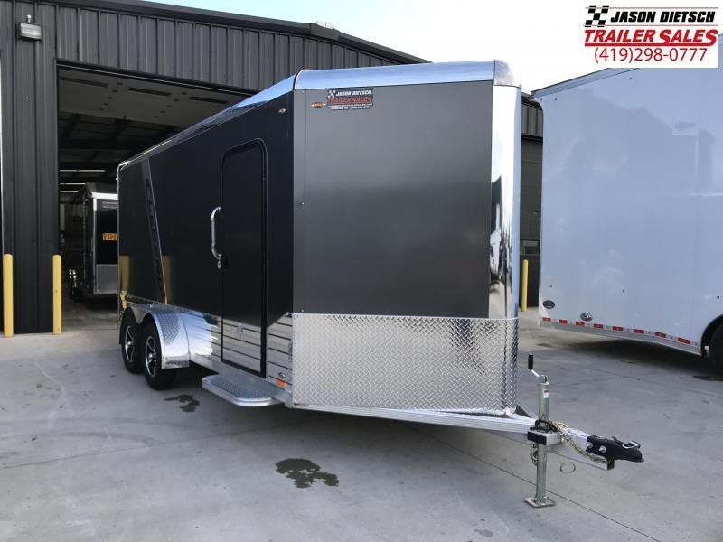 2019 Legend Manufacturing 7x19 DVN Enclosed Cargo Trailer... STOCK# 317022