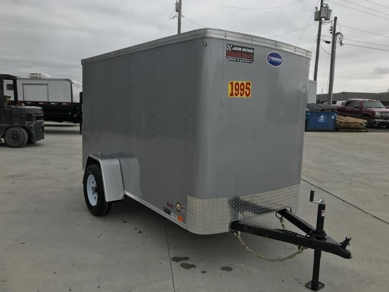 2020 United XLE 5X10 Enclosed Cargo TRAILER....Stock# UN-169098