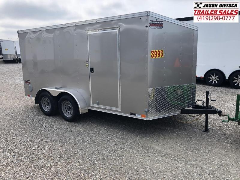 2019 United Trailers XLV 7x14 V-Nose Enclosed Cargo Trailer....Stock# UN-162765