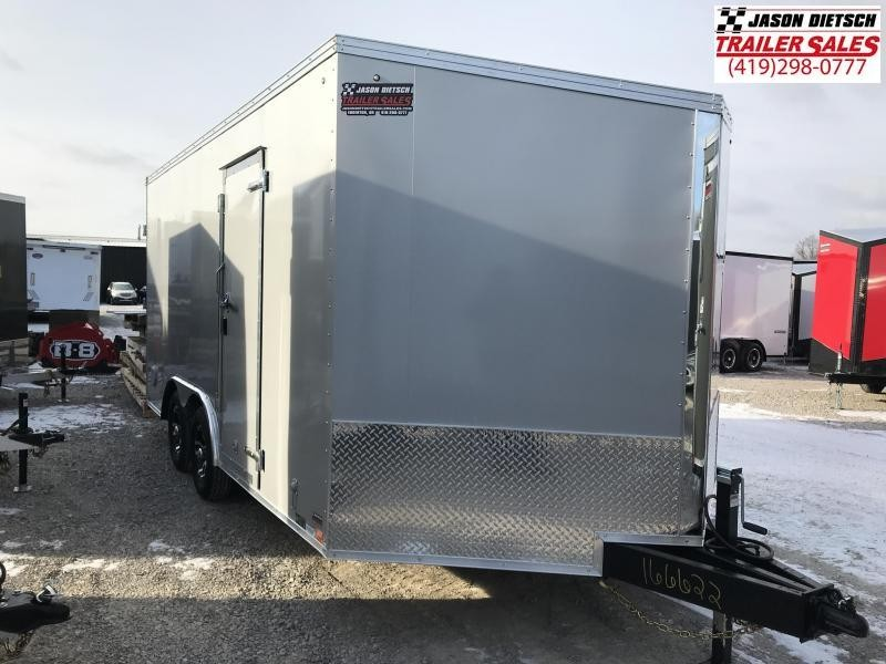 2019 United Trailers XLTV 8.5x19 Wedge-Nose Enclosed Car Hauler....Stock # UN-166622