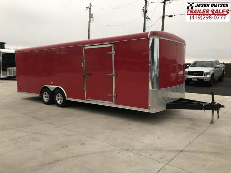 2008 MIDDLEBURY TRAILERS INC 8.5x24 Enclosed Cargo Trailer