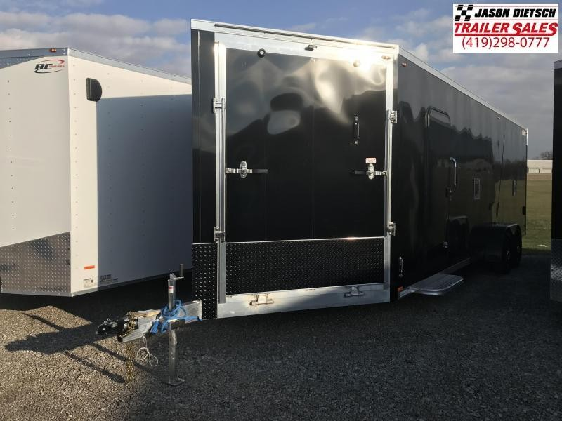 2019 Legend Manufacturing 7X29 EXPLORER EXTRA HEIGHT Snowmobile Trailer....STOCK LG-317338