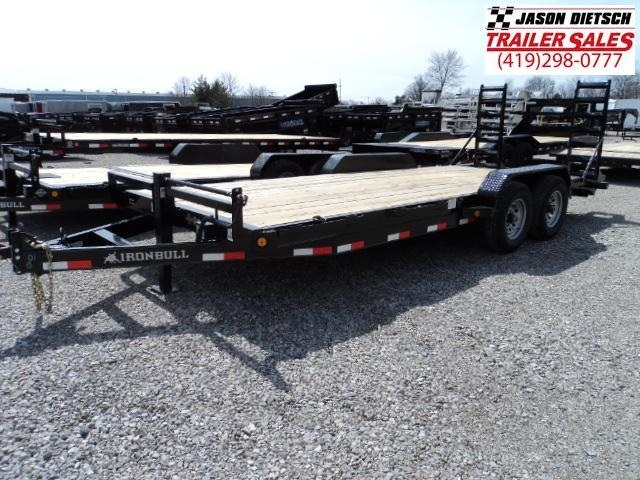 2018 Iron Bull 83X20 Equipment Trailer.... STOCK- 018125