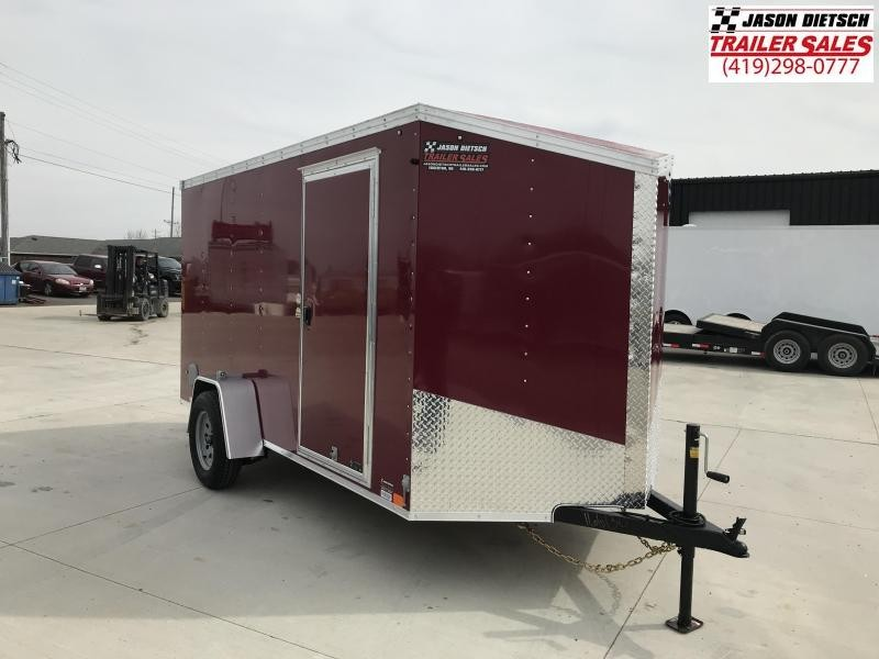 2020 United XLV 6X12 V-Nose Slant Enclosed Cargo Tr....Stock# UN-166130