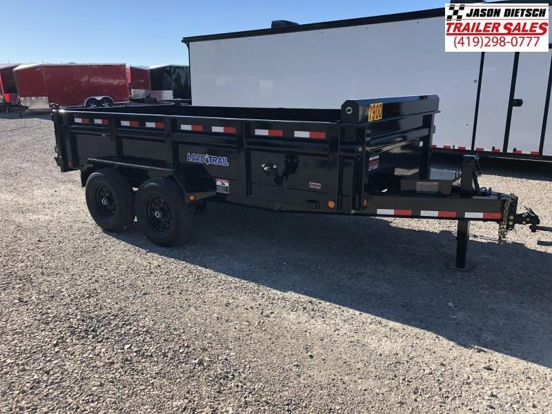 2018 Load Trail 83X14 Tandem Axle Dump Trailer....STOCK# LT-169980