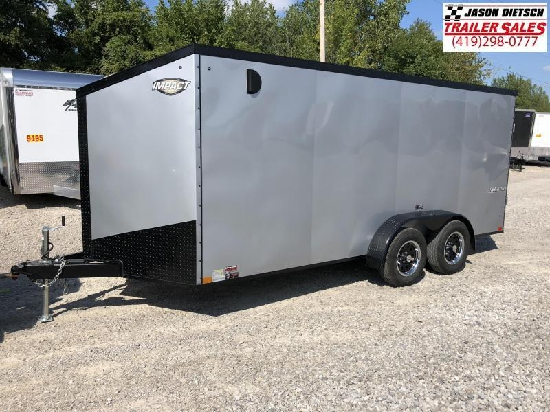 2019 Impact Trailers 7x16 Enclosed Cargo Trailer....IMP001006