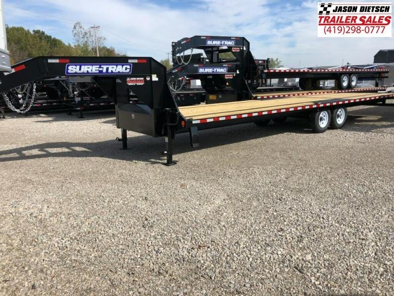 2019 Sure-Trac 102X30 LOW PRO DECK OVER Equipment Trailer....STOCK# ST-248144