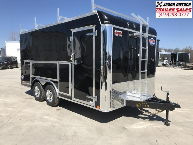2019 United Trailers UXT 8.5x16 Enclosed Tool Crib Trailer....Stock # UN-167732