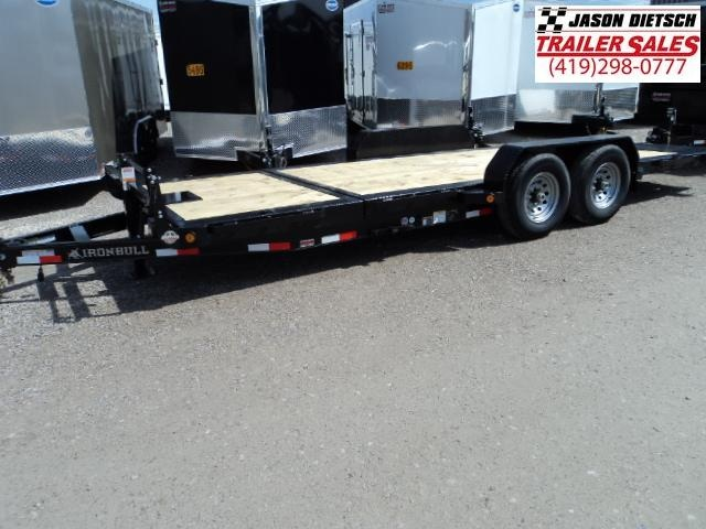 2018 Iron Bull 83X20 TILT Low Pro Equipment Trailer STOCK- 020092