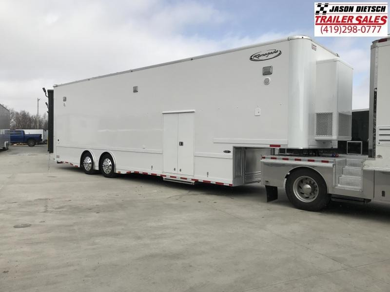 2017 Renegade 8.5X40 LIFT GATE Car / Racing Trailer