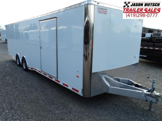 2018 American Hauler 8.5x28 ALUMINUM NIGHT HAWK ROUND FRONT Enclosed Cargo Trailer....Stock# AH-1344