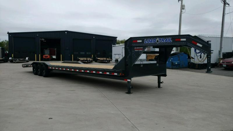 2020 Load Trail 102X40 Triple Gooseneck Carhauler Car / Racing Trailer....STOCK# LT-207718