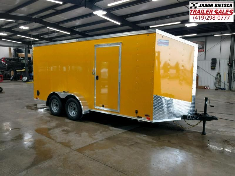 2020 United Trailers XLV 7x16 V-Nose Enclosed Cargo Trailer....Stock# UN-166182