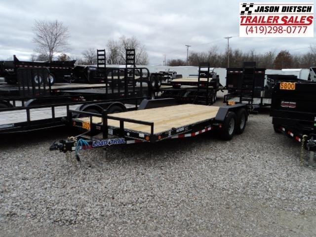 2018 Load Trail CP 83x18 Tandem Axle Carhauler....Stock#LT-52217