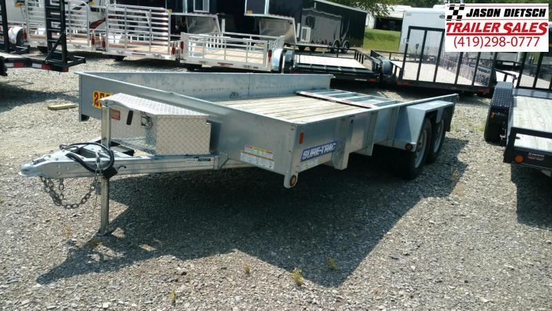 2015 sure-trac 7X16  Utility trailer....STOCK# 2571