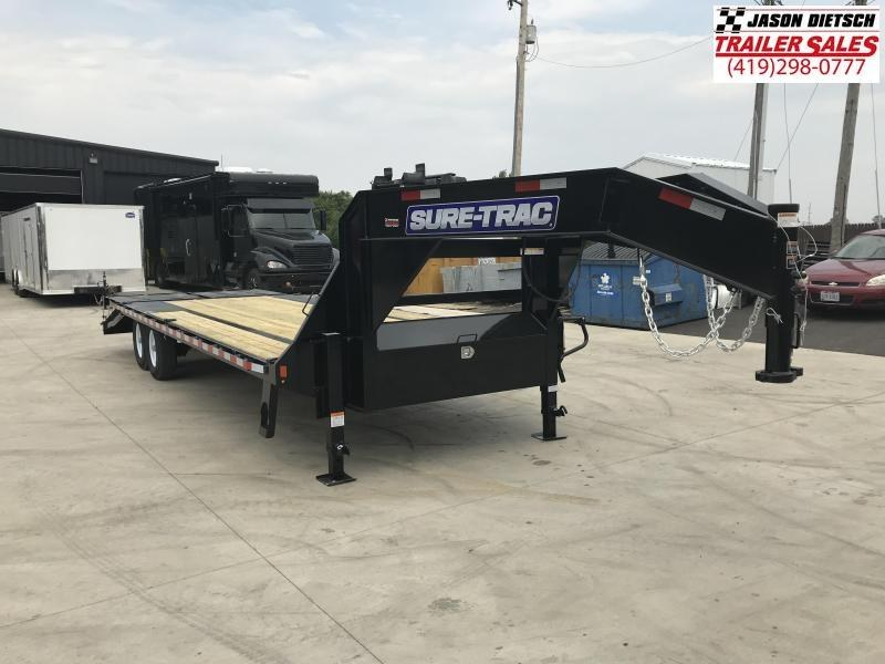 2018 Sure-Trac 8.5X20+5 Low Pro Deckover Tandem....Stock# ST-240481