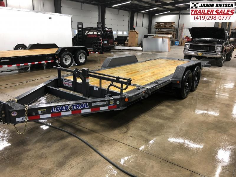 2019 Load Trail 83X18 TILT AND GO TANDEM AXLE....STOCK# LT-185946