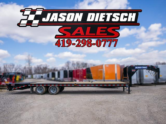 2016 Sure-Trac ST102X25+5 Equipment Trailer STOCK- 1106