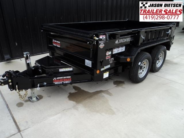 2018 Iron Bull 60x10 Tandem Axle Dump Trailer....Stock#IB-16193