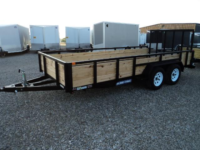 2018 Sure Trac 7x16 Tube Top Three Board Utility Trailer....Stock# ST-205237