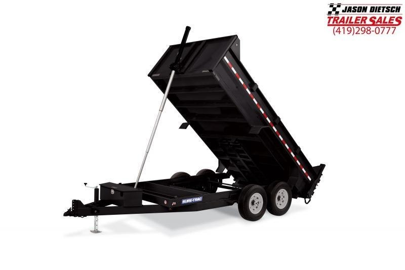 2019 Sure-Trac 82X14 LP 14K Telescopic Dump....STOCK# ST-0561