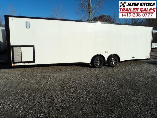 2017 United Trailer GEN 3 8.5x28 Extra Height Enclosed Race Trailer....Stock#UN-153306