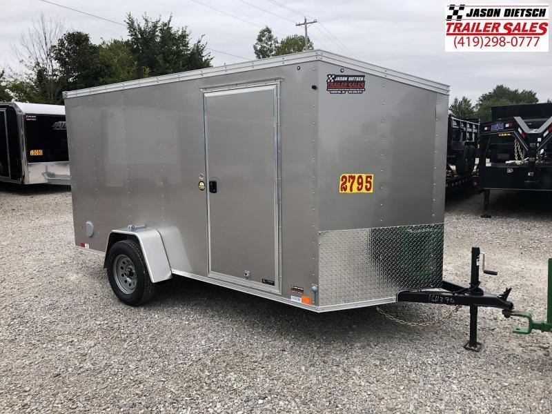 2019 United XLV 6X12 V-Nose Slant Enclosed Cargo Tr....Stock# UN-164370