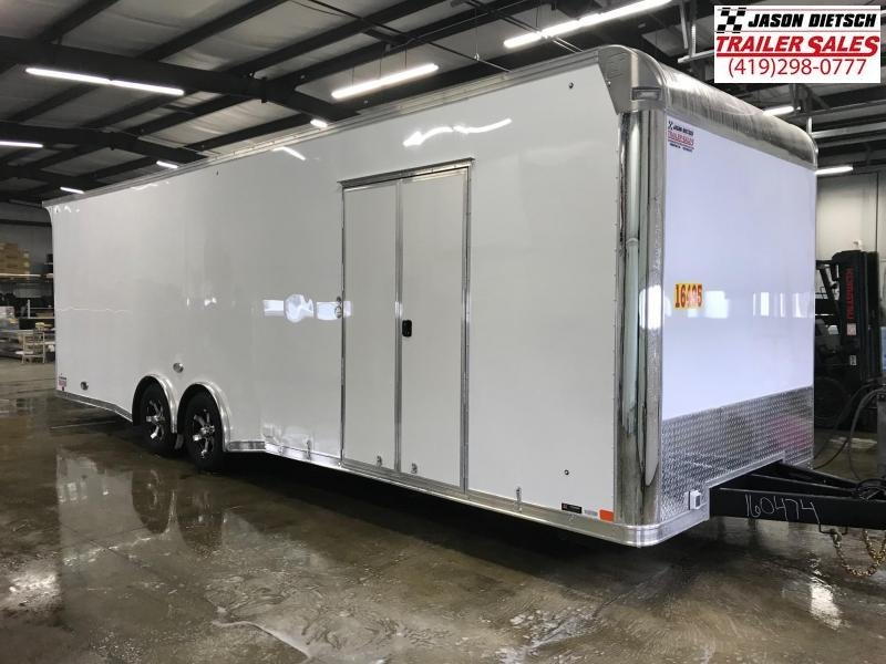 2019 United Trailer GEN 4- 8.5x28 EXTRA HEIGHT Enclosed Race Trailer....Stock#UN-160474