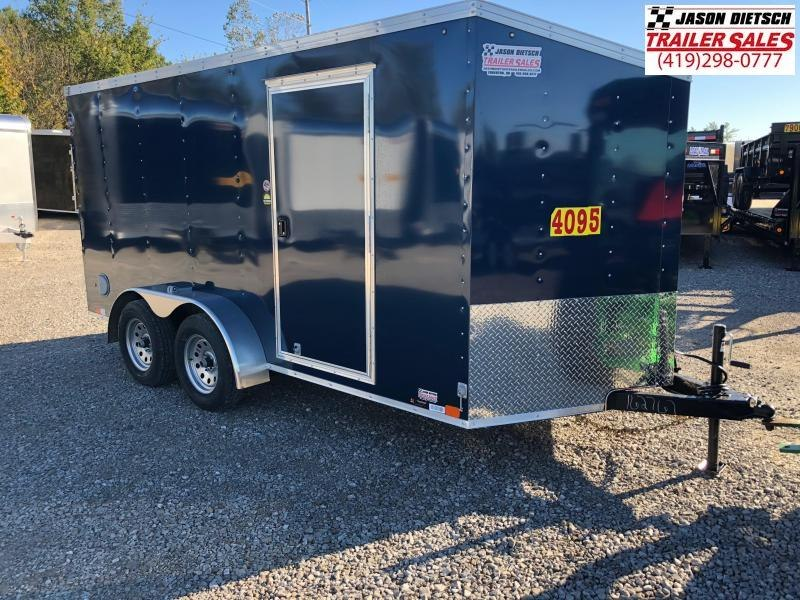 2019 United Trailers XLV 7x14 V-Nose Enclosed Cargo Trailer....Stock# UN-162767