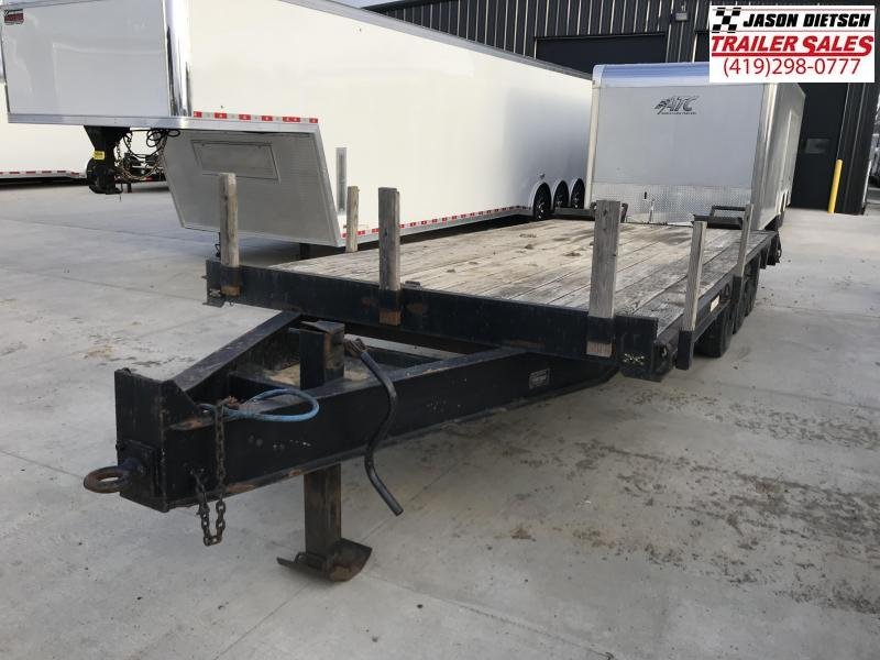 1989 CRONKHITE 8X22 EQUIPMENT TRAILER