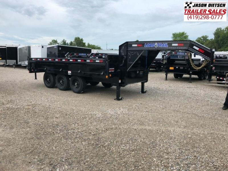 2019 Load Trail 96X16 Triple Axle Gooseneck Deck Over Dump Trailer....STOCK# LT-169163