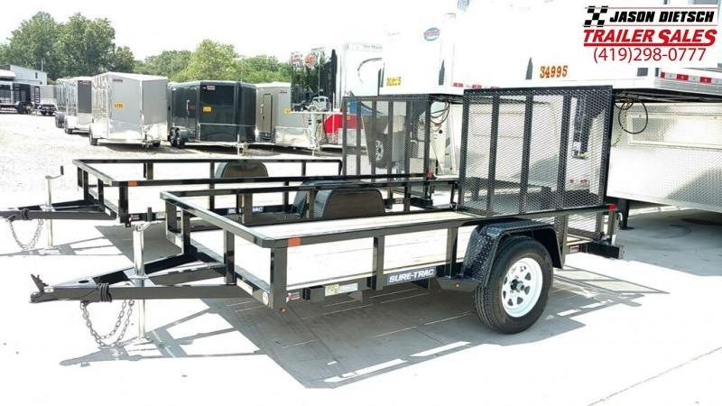 2018 Sure-Trac 6X10 Tube Top Utility....ST-221909